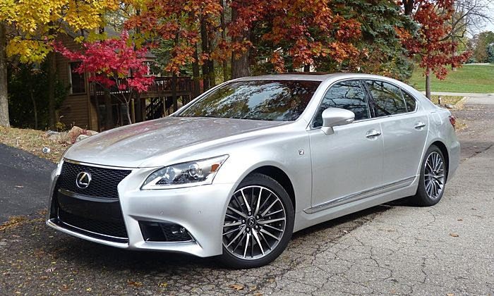 2014 Lexus LS 460 F-Sport -- Confused about what to buy? Call 1-800-CAR-SHOW for a Product Specialists who will help you for FREE. 300 models to choose from: Coupes, Sedans, Station Wagons, Minivans, Crossovers, SUVs, Pickup Trucks