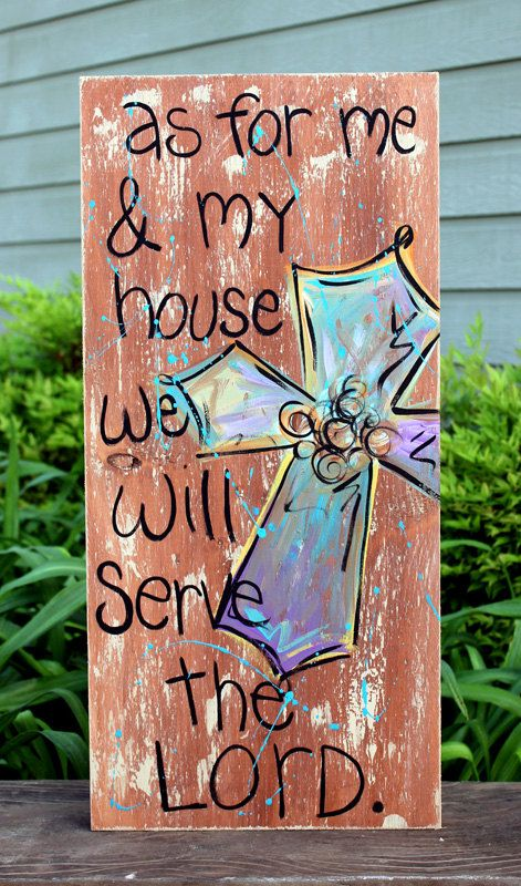 Wooden Signs Wood Signs Hand Painted Wood Art by rachel4art, $45.00