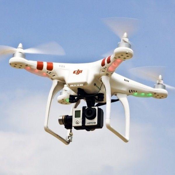 DJI Phantom Quadcopter w/ GoPro Mount - $150 #air #fly #wireless #control #precise #record #camera #photo #aircraft