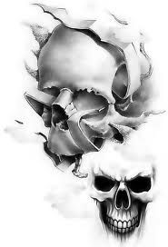 Galeria tatuazy - Tatuaże czaszki