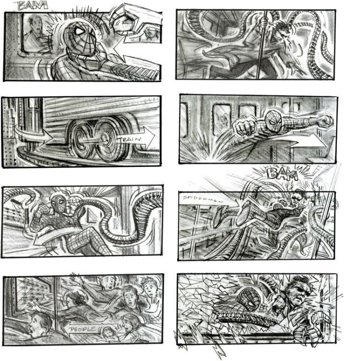 37 best Movie Storyboards images on Pinterest Storyboard artist - movie storyboard