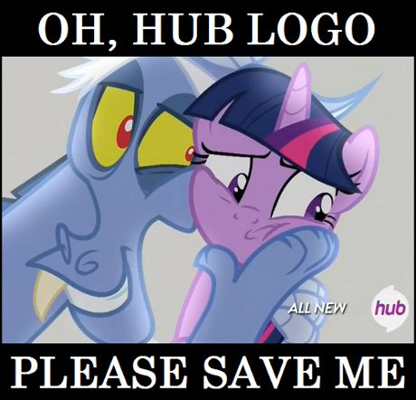 Hub Logo is Apathetic To Your Problems