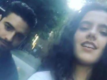 """Camila Fernández, la hija del cantante Alejandro Fernández, compartió en sus historias de Instagram, algunos momentos que pasó con Maluma en Boston.    Las imágenes muestran a ambos intérpretes divirtiéndose en una feria, y Maluma aprovecha para enviarle un mensaje a """"El Potrillo"""": """"@alexoficial acá te la estoy cuidando!""""."""