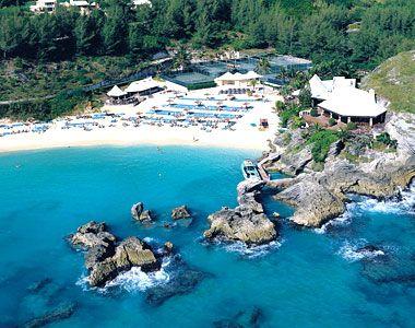 The Beach Club at the Fairmont Princess in Bermuda.