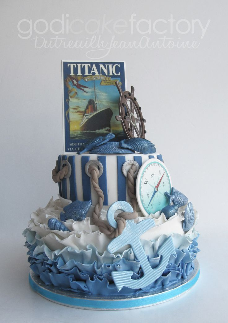 Titanic birthday cake                                                                                                                                                     Mais