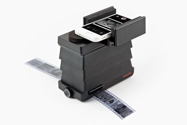 Lomography Smartphone Film Scanner - A simple way to scan 35mm film directly to your smartphone. ($59.00, http://photojojo.com/store)