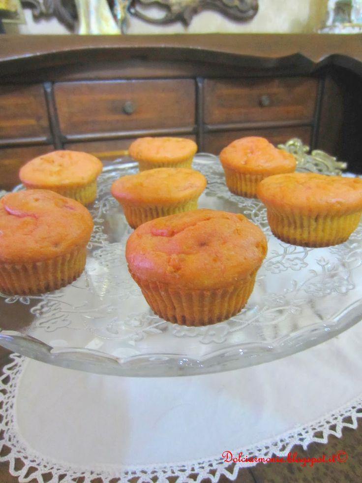 Muffin alla barbabietola rossa