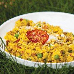 Garden Veggie Couscous Three Cooking Methods
