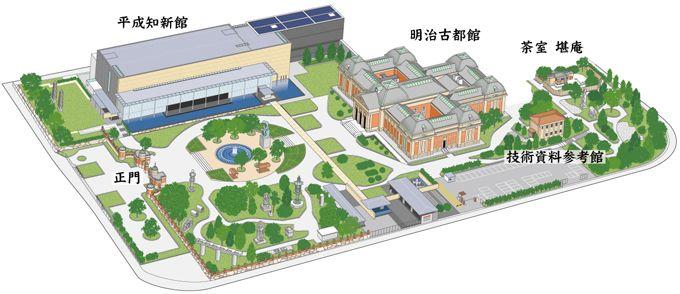 京都国立博物館マップ