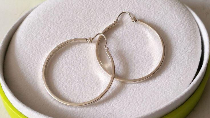 Vintage Ohrhänger - Creolen Ohrringe Silber 925 Vintage elegant SO160 - ein Designerstück von Atelier-Regina bei DaWanda