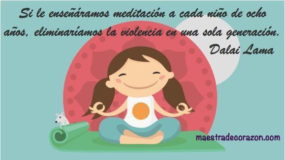 Las actividades de meditación para niños es una de las herramientas más demandadas en Educación Emocional. ¿Quieres ver en qué consiste la meditación guiada para los peques?