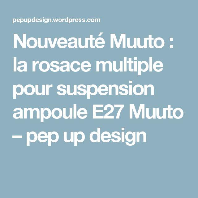 25 best ideas about ampoule e27 on pinterest eclairage neon ampoule retro - Suspension ampoule muuto ...