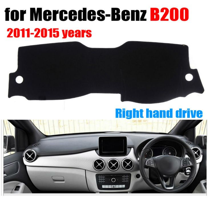 Car dashboard covers mat for Mercedes-Benz B200 2011-2015 years Right hand drive dashmat pad dash cover auto accessories
