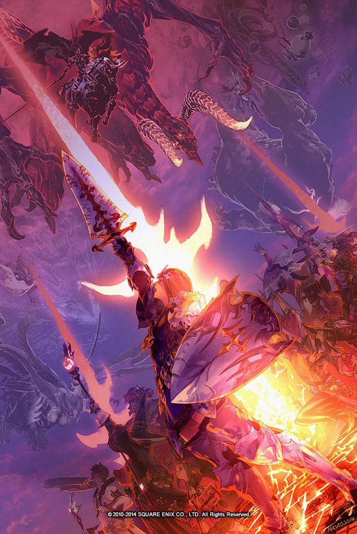 Primal Threat Illustration | Final Fantasy XIV: A Realm Reborn