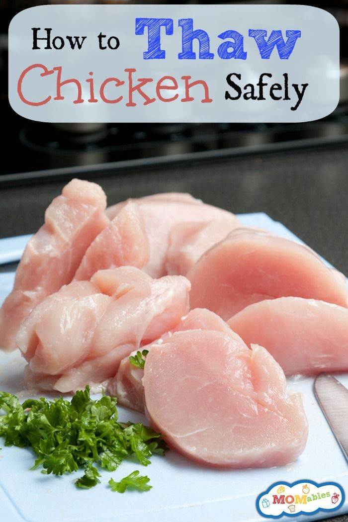 How To Thaw Chicken Safely  Momables Original Recipes -5820