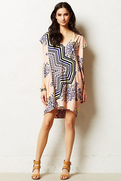 Plenty by Tracy Reese Waverly Cocoon Tunic Anthropologie via StyleList