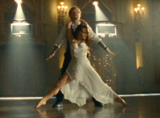 Ed Sheeran Tries Ballroom Dancing in New ''Thinking Out Loud'' Music Video: Watch Now! Ed Sheeran, Thinking Out Loud Video