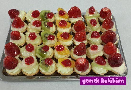 TARİF : Meyveli Tartolet #yemekkulubum