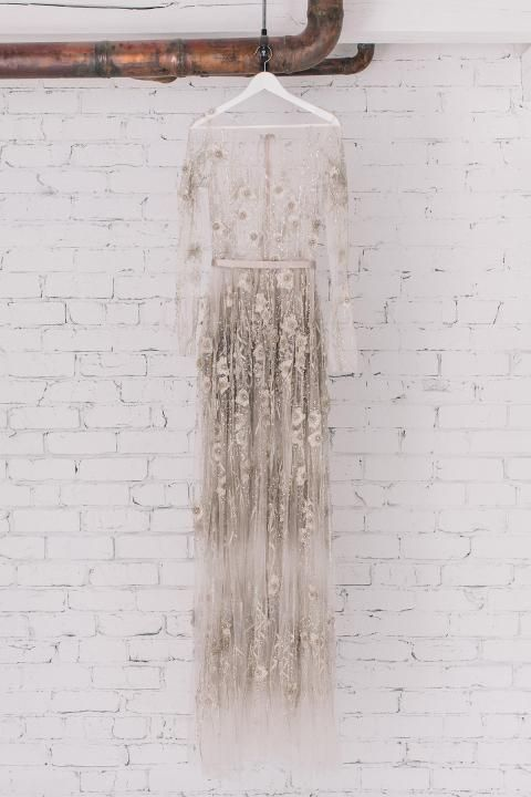 Paolo Sebastian Crystal Gown / Wedding Style Inspiration / LANE