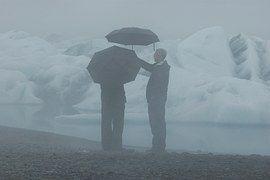 Iceland, Rain, Mood, Nature, Glacier