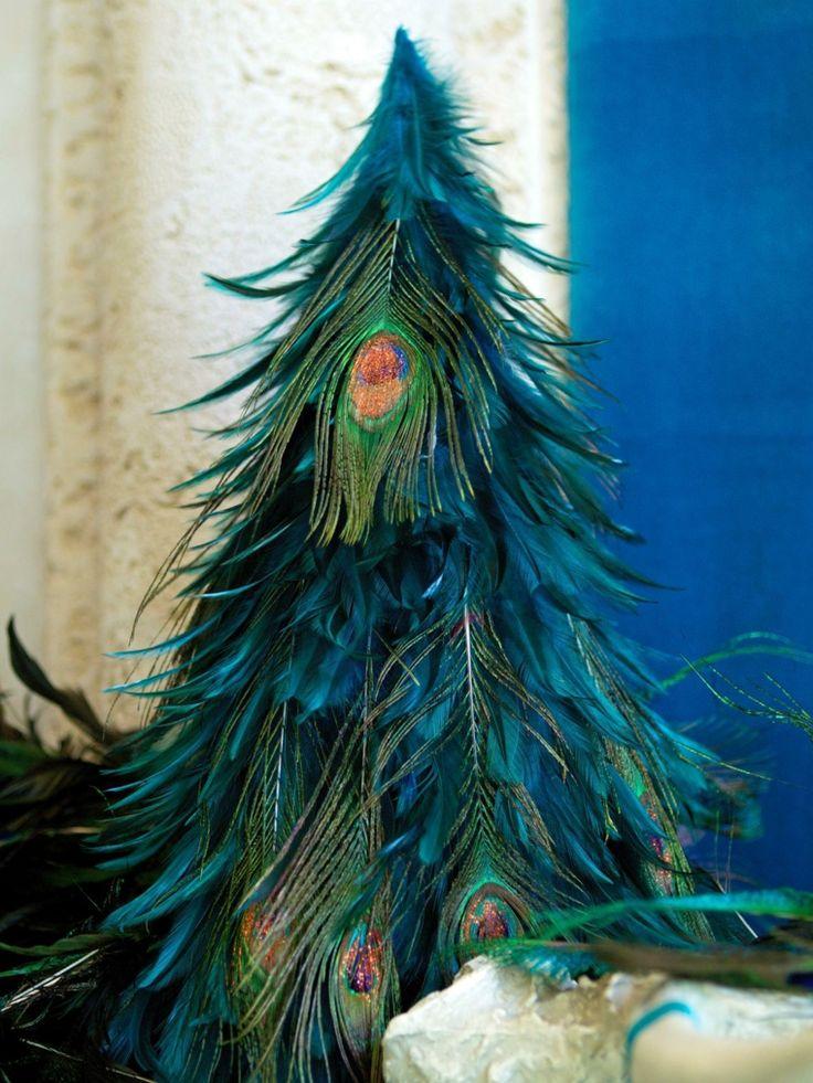 décoration bleu canard Noël originale