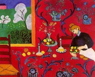 Henri Matisse. Harmonia em vermelho, 1897.