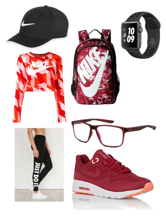 Nike by olahtory on Polyvore featuring polyvore, fashion, style, NIKE and clothing