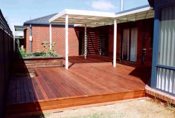 Decking ideas by features in timber outdoor pinterest for Garden decking features
