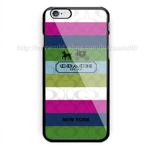 New-Hot-Best-Coach-Rainbow-New-York-Case-Cover-iPhone-6-6s-6s-7-7-8-8-Samsung