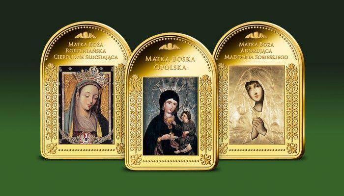 Wizerunki Matki Boskiej: Rokitnitnickiej, Opolskiej oraz Madonny Sobieskiego