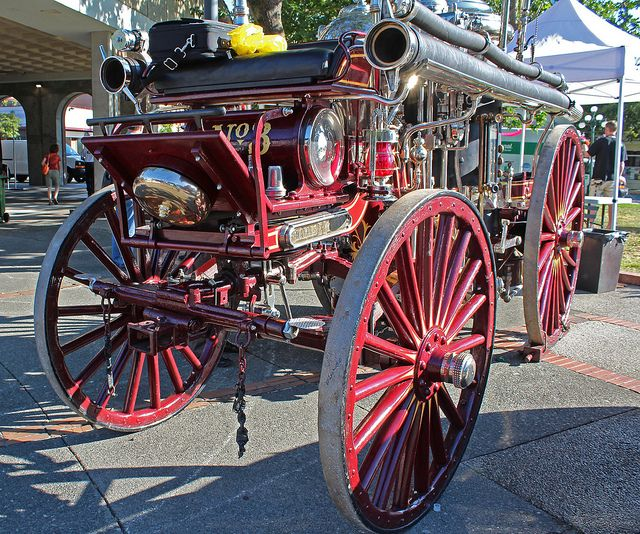 old fire engines | antique fire engine | Flickr - Photo Sharing!
