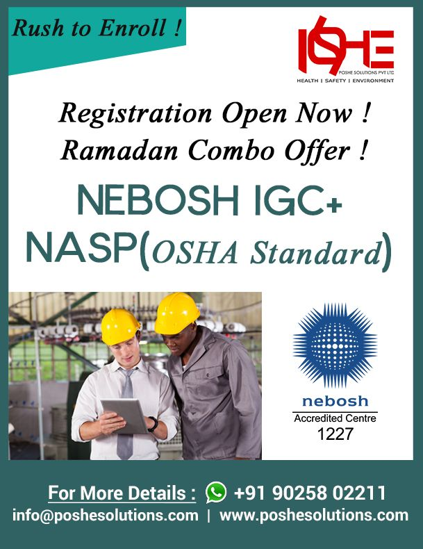 Nebosh Courses In Indianebosh Certificationsafety Chennai
