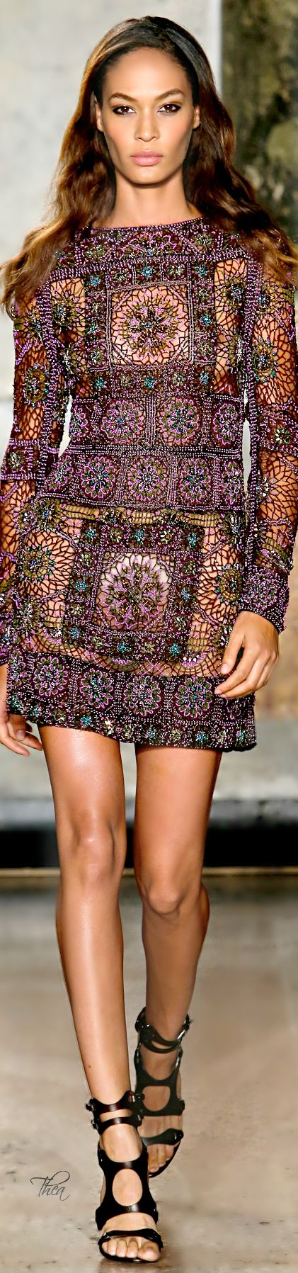 Emilio Pucci ● SS 2015 oh i like this dress a lot