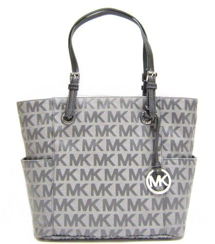 Michael Kors Signature / Monogram Jet Set Tote; � Clothing Impulse