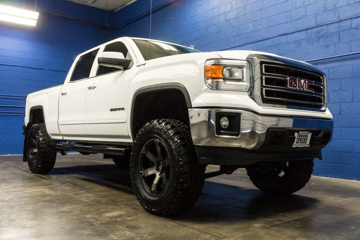 2014 GMC Sierra 1500 SLE 4x4 Lifted Truck For Sale at Northwest Motorsport! #nwmsrocks #liftedtrucks  #gmctrucks