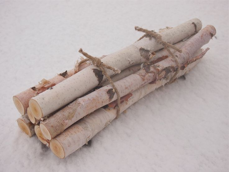 7 white birch logs in a fireplace bundle natural for White birch log crafts