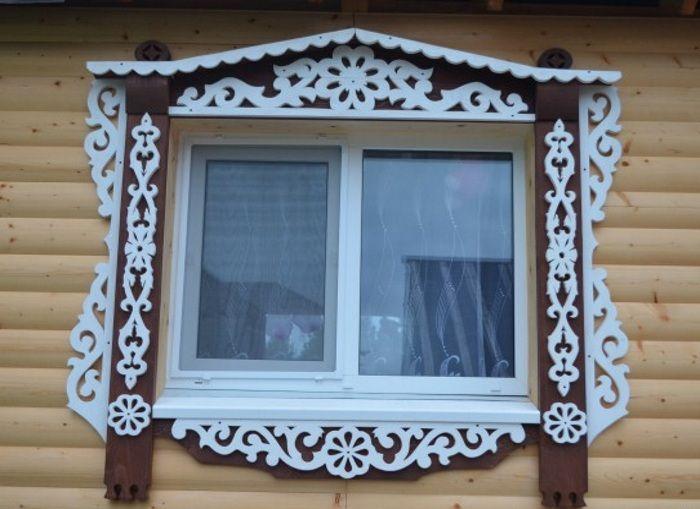 Картинки наличники на окна