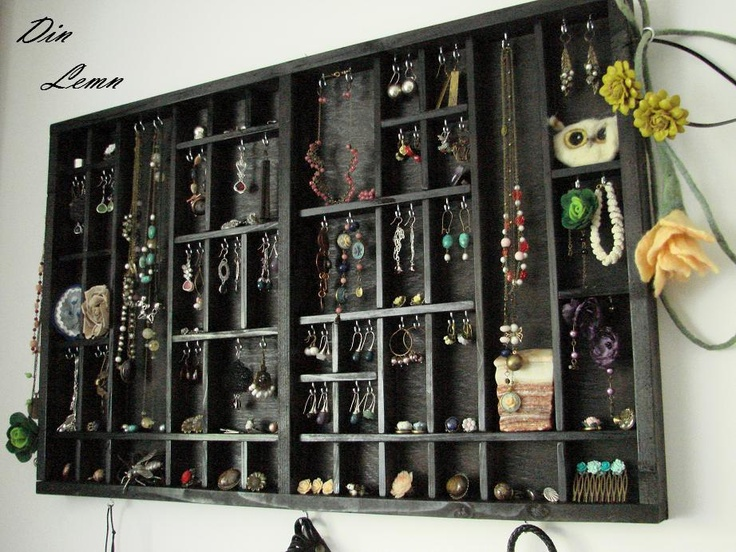 Organizator pentru bijuterii ... REZERVAT G. de DinLemn Breslo