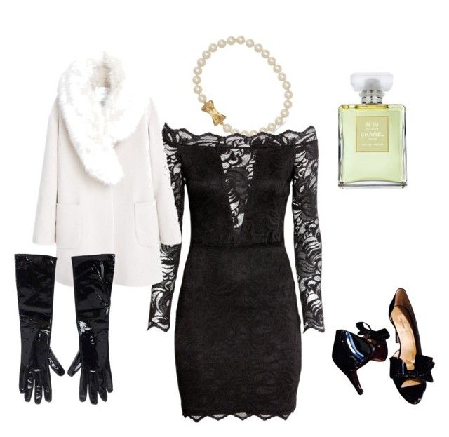 """""""Opera"""" by motetta on Polyvore featuring Kate Spade, H&M, MANGO, Dsquared2, Valentino and Chanel"""