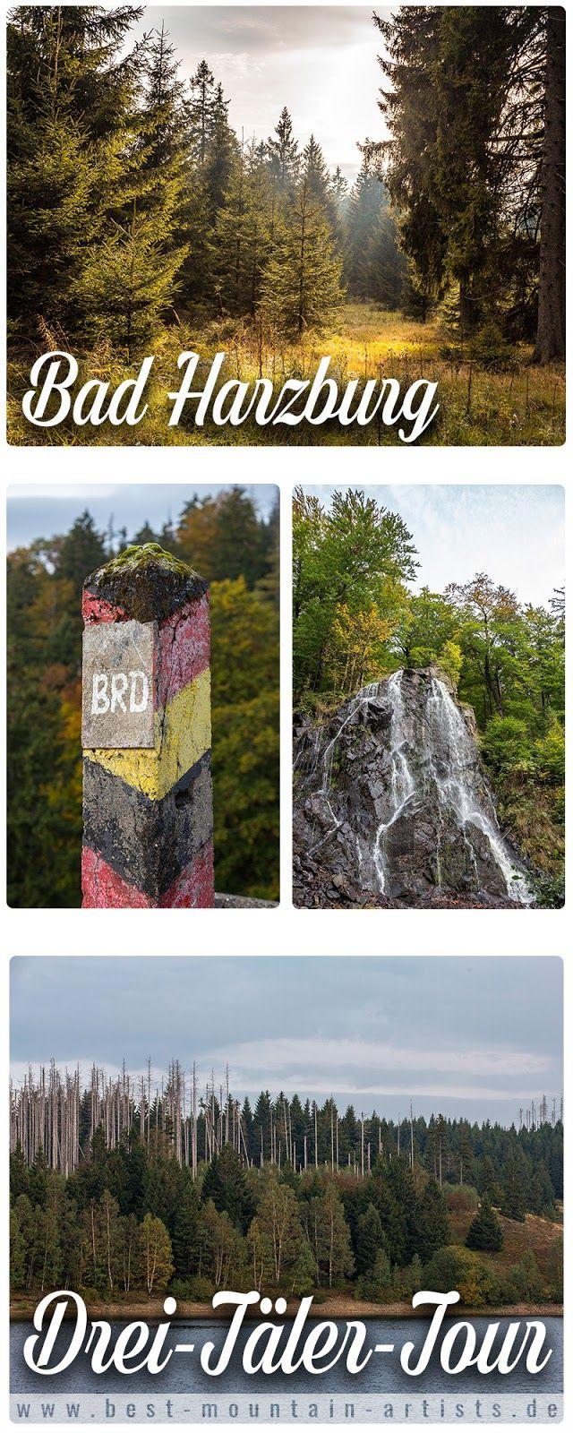 Great Drei T ler Tour Themenwanderweg Bad Harzburg Wandern im Harz Baumwipfelpfad Radauwasserfall Eckertalsperre