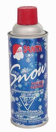 Santa Artificial Snow Spray