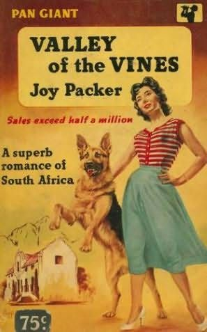book cover of   The Valley of the Vines