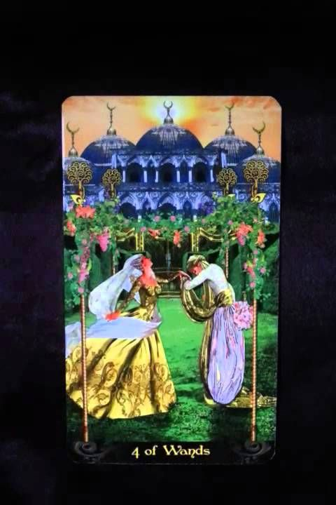 The coming week's reminder is brought to us by the Four of Wands When we are functioning optimally, the energies it represents for us would be celebrating ou...