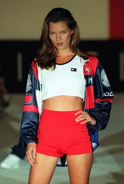 Kate Moss for Tommy Hilfiger 1990s