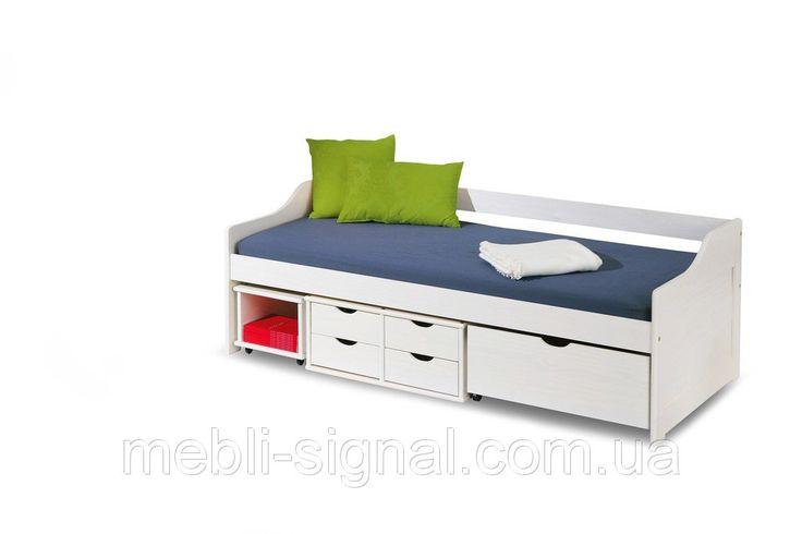 Детская кровать с ящиками Floro:купить в Интернет-магазине польской мебели Signal.