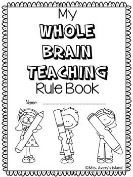 Are you a Whole Brain teacher?  If so, take advantage of this FREE Whole Brain Teaching rule booklet!  After teaching your students the WBT rules, your students can create a coloring booklet and provide a constructed response to the different rules!  No doubt they will put their WHOLE HEART into their WHOLE BRAIN booklet!Simply download these black and white ink saving pages, staple, and let your students put their coloring skills to work on this back to school booklet!Please be sure and…
