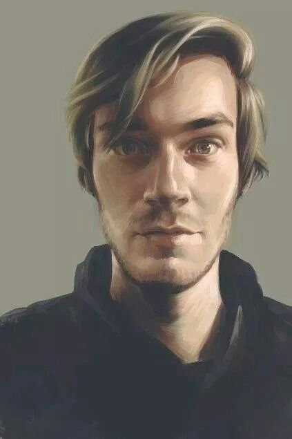 Awesome PewDiePie fan art :O