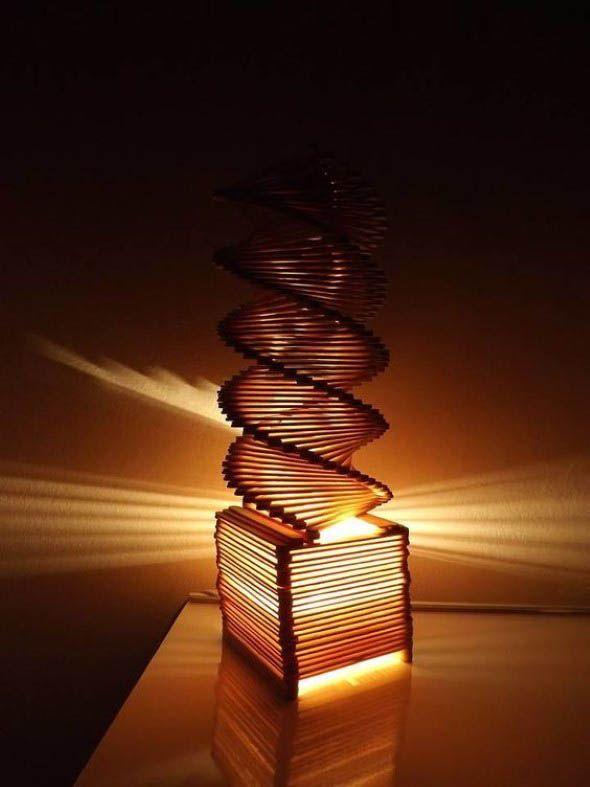 Como Fazer Uma Luminaria Com Palitos De Picole Artesanato Com