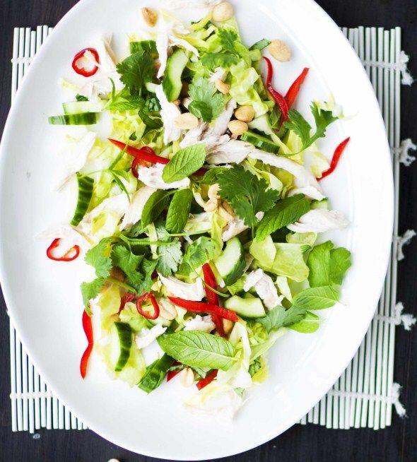 Vietnamilainen kanasalaatti
