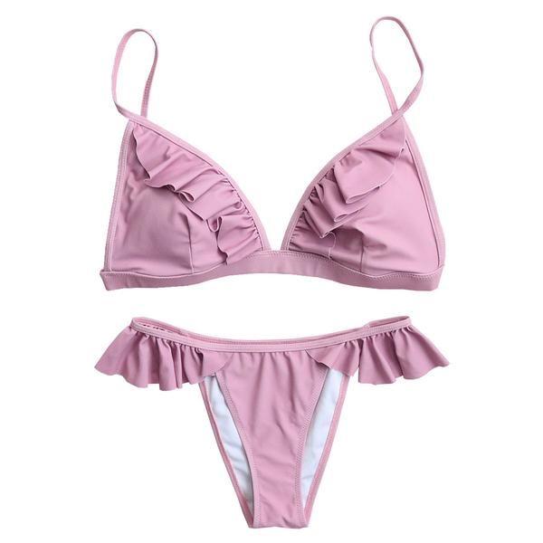Ruffle Bikini Set
